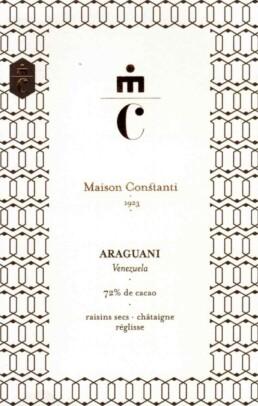 Araguani chocolaterie Maison Constanti