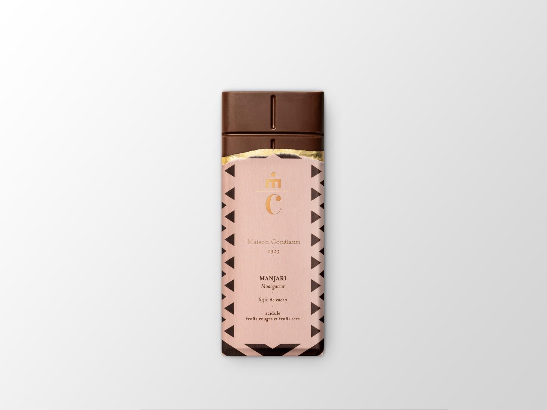 Tablette de chocolat Manjari de Constanti